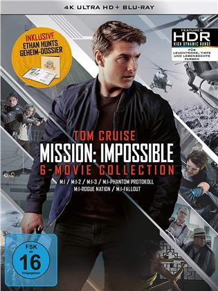 Mission Impossible 1-6 (Edizione Limitata, 6 4K Ultra HDs + 7 Blu-ray)
