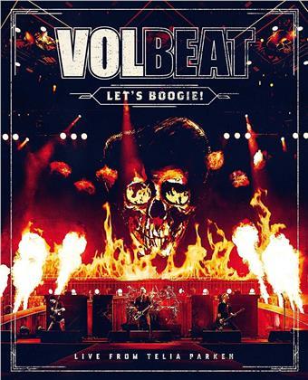 Volbeat - Let's Boogie! Live From Telia Parken (2 CDs + DVD)
