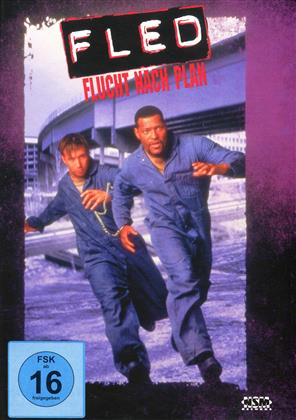 Fled - Flucht nach Plan (1996) (Cover B, Limited Edition, Mediabook, Blu-ray + DVD)