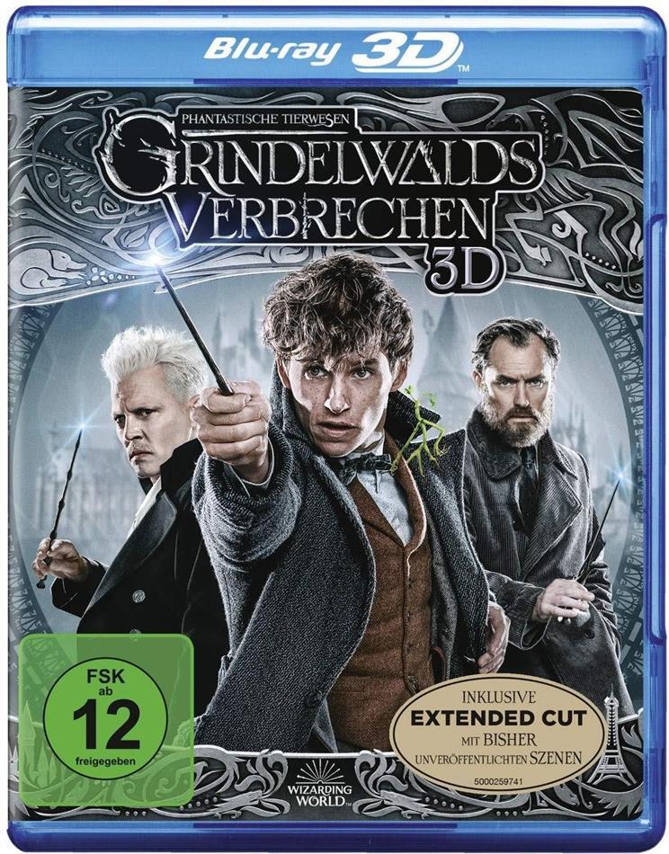 Phantastische Tierwesen 2 - Grindelwalds Verbrechen (2018) (Blu-ray 3D + Blu-ray)