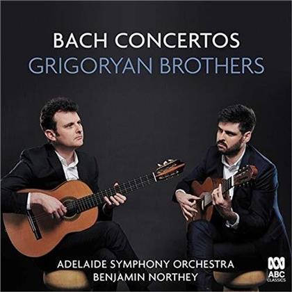 Adelaide Symphony Orchestra, Benjamin Northey, Johann Sebastian Bach (1685-1750) & Grigoryan Brothers - Bach Concertos