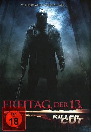 Freitag der 13. - Willkommen in Crystal Lake (2009) (Cover B, Killer Cut, Limited Edition, Mediabook, Uncut)