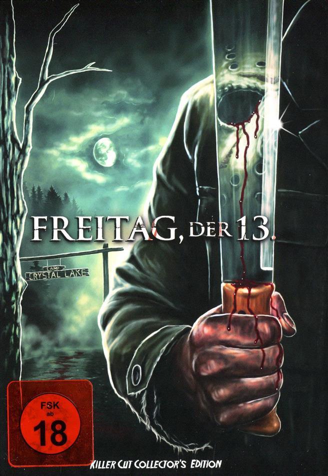 Freitag der 13. (2009) (Killer Cut, Cover C, Collector's Edition, Limited Edition, Mediabook, Uncut)