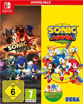 Sonic Mania Plus and Sonic Forces Double Pack