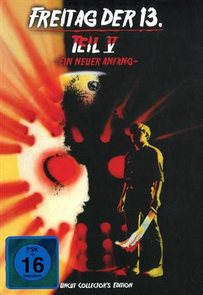 Freitag der 13. - Teil 5 - Ein neuer Anfang (1985) (Cover C, Collector's Edition, Limited Edition, Mediabook, Uncut)