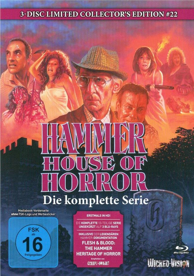 Hammer House of Horror - Die komplette Serie (Collector's Edition, Limited Edition, Mediabook, Uncut, 3 Blu-rays)