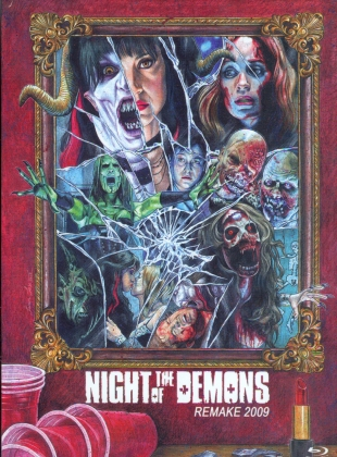 Night of the Demons (2009) (Cover A, Limited Edition, Mediabook, Blu-ray + DVD)
