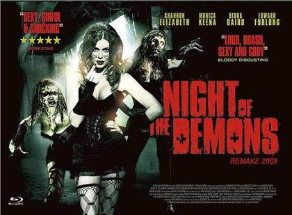 Night of the Demons (2009) (Cover C, Limited Edition, Mediabook, Blu-ray + DVD)