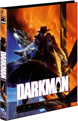 Darkman Trilogy (Cover A, Limited Edition, Mediabook, 3 Blu-rays + DVD)