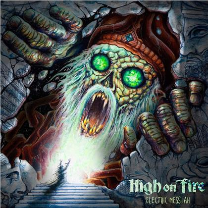 High On Fire - Electric Messiah (Transparent Green Vinyl, 2 LPs)