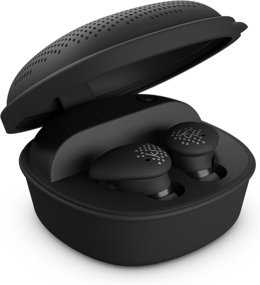 KitSound District True Wireless Bluetooth In-Ear Earphones - black