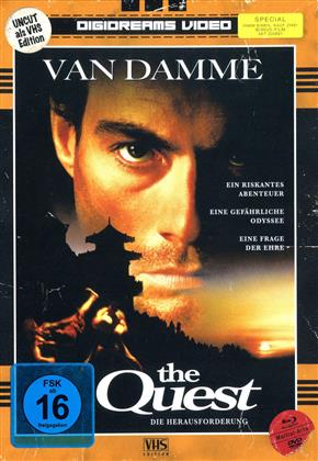 The Quest (1996) (VHS-Edition, Edizione Limitata, Mediabook, Uncut, 2 Blu-ray + 2 DVD)