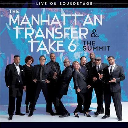 Manhattan Transfer & Take - Summit - Live.. -Br+CD- (2 Blu-rays)