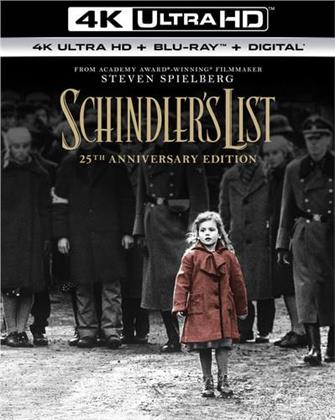 Schindler's List (1993) (25th Anniversary Edition, 4K Ultra HD + Blu-ray)
