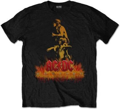 AC/DC Unisex Tee - Bonfire