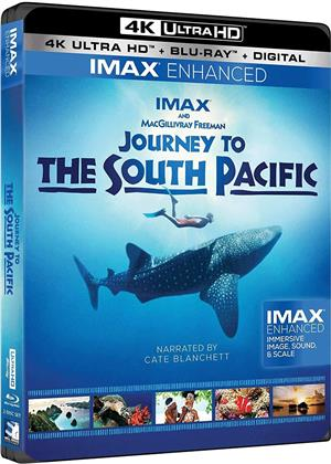 Journey To The South Pacific (2013) (Imax, 4K Ultra HD + Blu-ray)