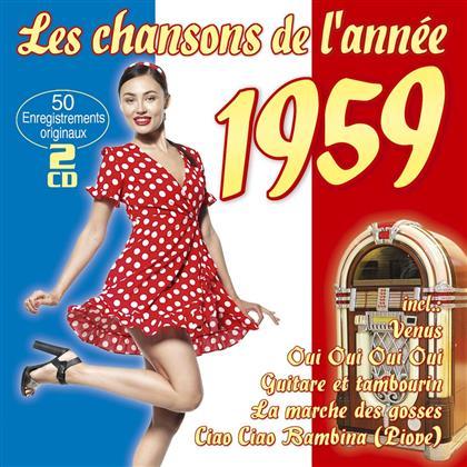 Les Chansons De L'Année 1959 (2 CD)