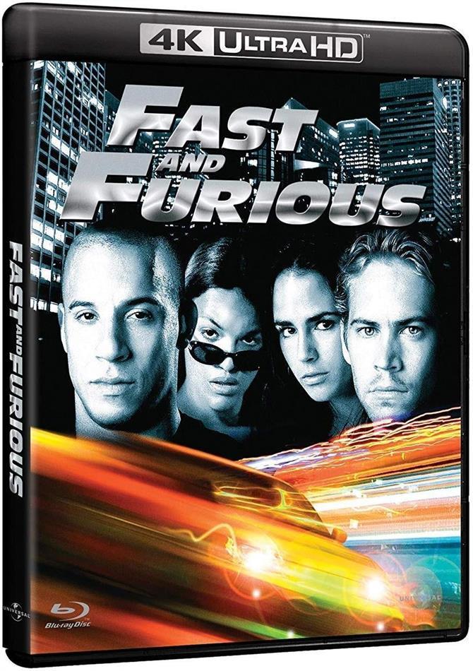 Fast and furious (2001) (4K Ultra HD + Blu-ray)