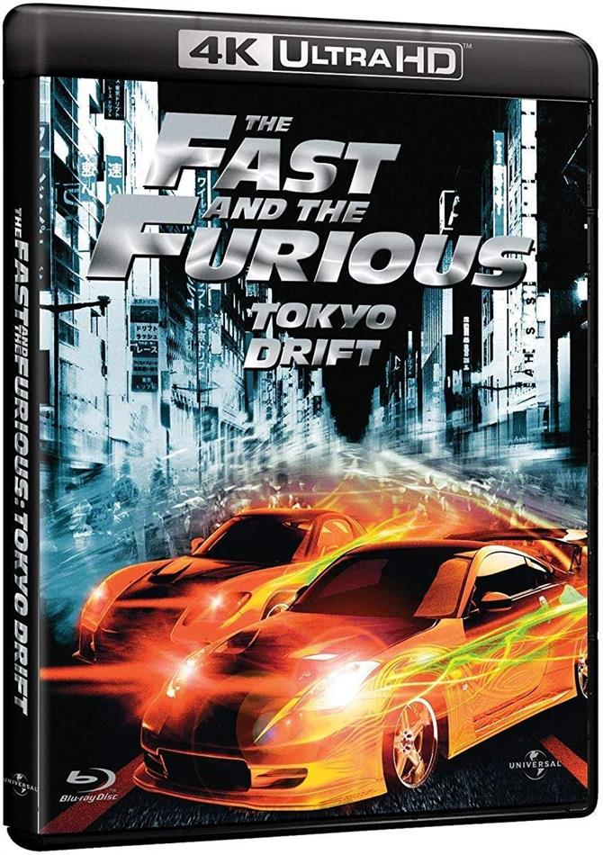 The Fast and the Furious: Tokyo Drift (2006) (4K Ultra HD + Blu-ray)