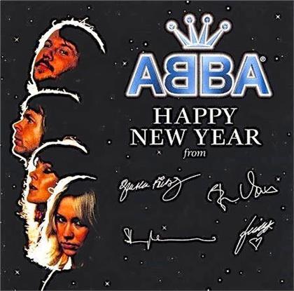 "ABBA - Happy New Year (2018 Reissue, White Vinyl, 7"" Single)"