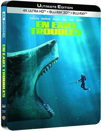 En eaux troubles (2018) (Limited Edition, Steelbook, Ultimate Edition, 4K Ultra HD + Blu-ray 3D + Blu-ray)