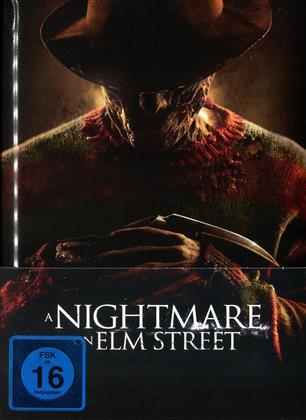 A Nightmare on Elm Street (2010) (Wattiert, Limited Edition, Mediabook, Blu-ray + DVD)