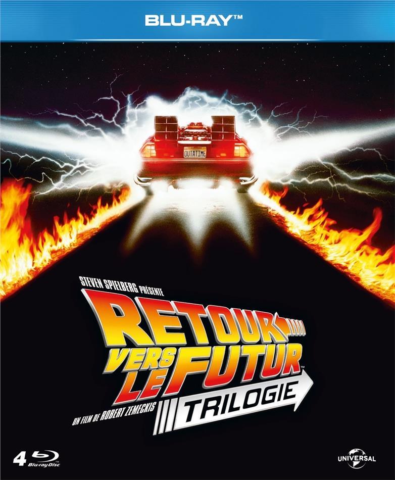 Retour vers le futur - Trilogie (4 Blu-rays)