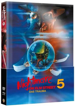 Nightmare on Elm Street 5 - Das Trauma (1989) (Wattiert, Limited Edition, Mediabook, Blu-ray + DVD)