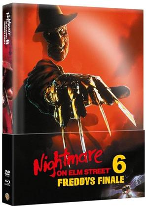 Nightmare on Elm Street 6 - Freddys Finale (1991) (Wattiert, Limited Edition, Mediabook, Blu-ray + DVD)