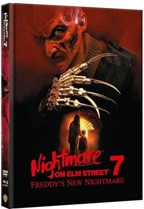 Nightmare on Elm Street 7 - Freddy's New Nightmare (1994) (Edizione Limitata, Mediabook, Blu-ray + DVD)