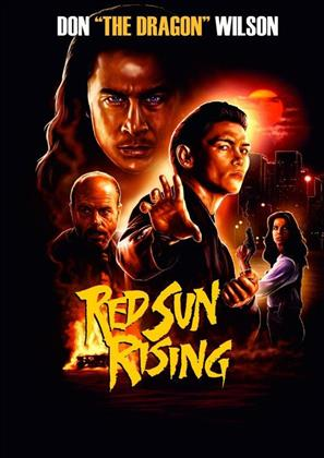 Red Sun Rising (1993) (Cover C, Limited Edition, Mediabook, Uncut, Blu-ray + DVD)