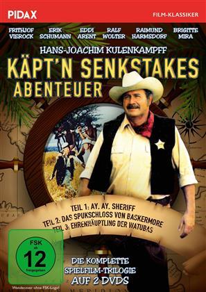 Käpt'n Senkstakes Abenteuer - Die komplette Spielfilm-Trilogie (1976) (Pidax Film-Klassiker, Pidax film klassiker, 2 DVDs)