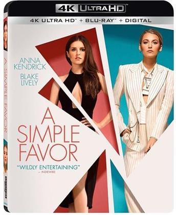 A Simple Favor (2018) (4K Ultra HD + Blu-ray)