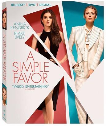 A Simple Favor (2018) (Blu-ray + DVD)