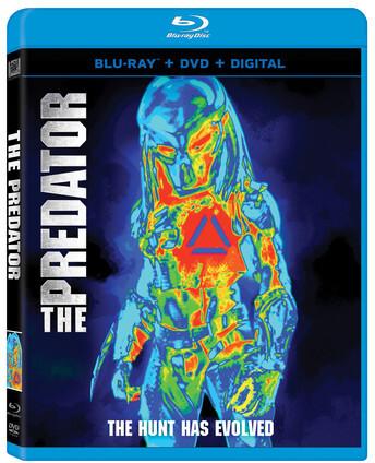 The Predator (2018) (Blu-ray + DVD)