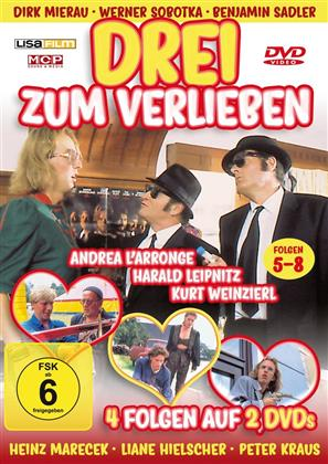 Drei zum Verlieben - Folgen 5-8 (2 DVDs)