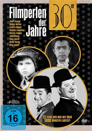 Filmperlen der 30er Jahre (Deluxe Box, 4 DVDs)