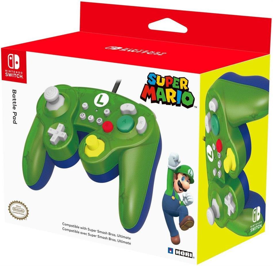 Nintendo Switch - Battle Pad - Luigi