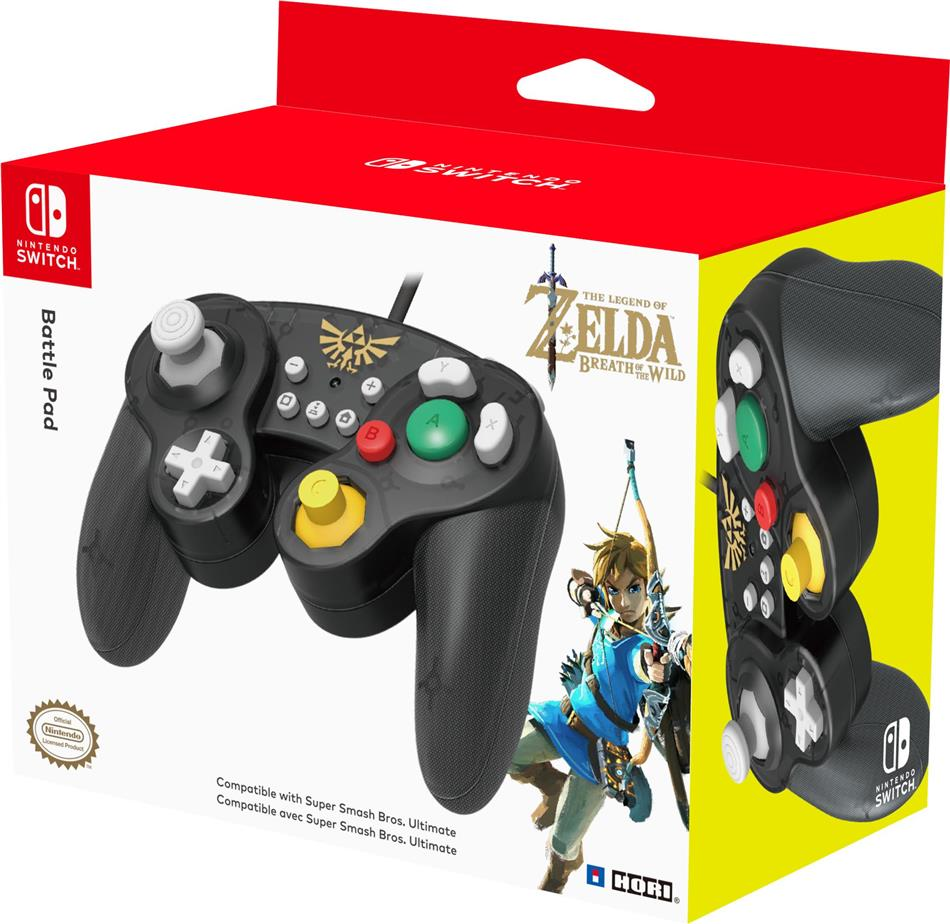 Nintendo Switch - Battle Pad - Zelda
