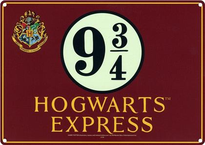 Harry Potter: Hogwarts Express - Tin Sign 21x15cm