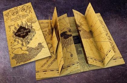 Carte du Maraudeur - Harry Potter - 39 cm - 1/1