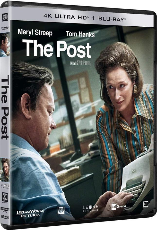 The Post (2017) (4K Ultra HD + Blu-ray)