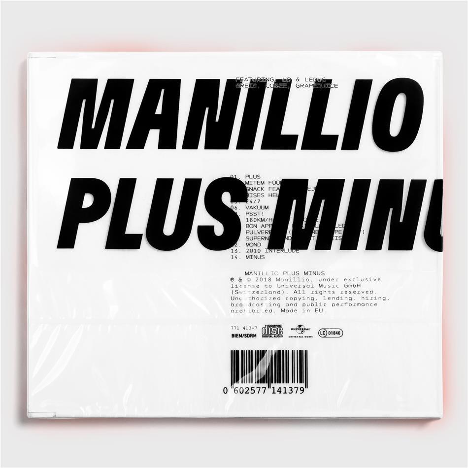 Manillio - Plus Minus
