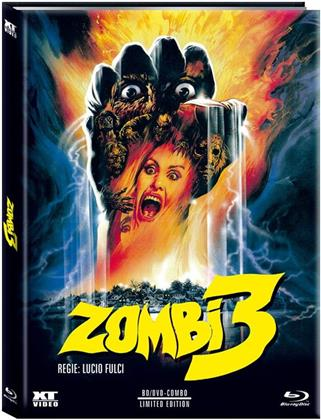 Zombi 3 (1988) (Cover A, Limited Edition, Mediabook, Blu-ray + DVD)