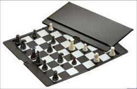 Schach, Reisespiel - magnetisch