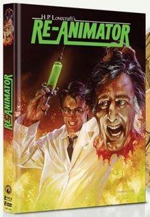 Re-Animator (1985) (Limited Edition, Mediabook, 2 Blu-rays + 2 DVDs)