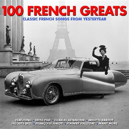 100 French Greats (Not Now Music, 4 CDs)