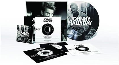 "Johnny Hallyday - Mon Pays C'est L'Amour (5 7"" Singles + Buch)"