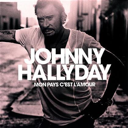 Johnny Hallyday - Mon Pays C'est L'Amour (LP)
