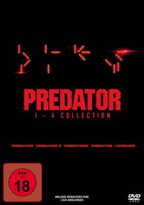 Predator 1-4 (4 DVDs)